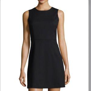 Theory wool blend arila quartet sleeveless dress